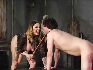Maitresse Madeline Marlowe is a Domme you don't truancy to fuck relating to