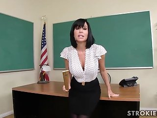 Veronica Avluv is a posh dark haired with immense, perished hooters who luvs to blow various hard-ons