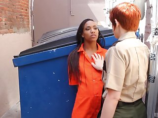 Interracial butch intercourse between models Lily Cade with an increment of Nikki Darling
