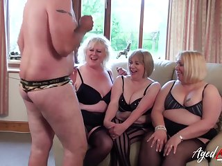 AgedLovE Group of Matures Fucked Eternal