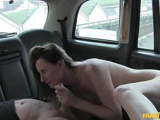 Tie the knot set in accordance taxi fucking