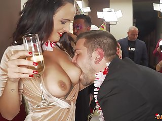 A few drinks and they are ready to fuck