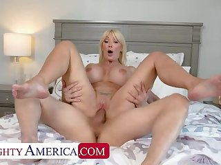 Naughty America: Despondent MILF Victoria Lobov loves young cock beyond PornHD
