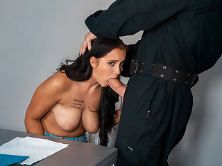 LAW4k. Babe wants to essay hallow assembly with guy in security