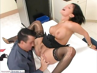 Tory Whirl takes a huge cock surrounding their way as