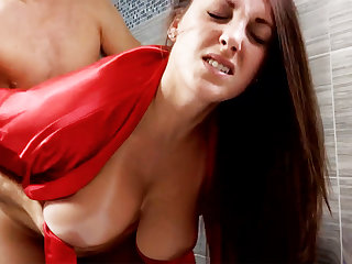 Piping hot brat forcibly light of one's life busty stepmom