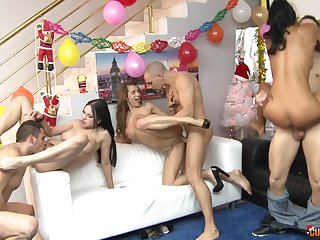 Hot holy day for the wild whores craving for dicks